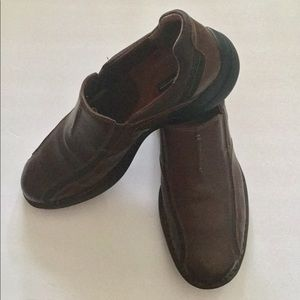Clarks Leather Leather Shoes